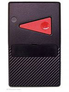 Handsender Deltron S405, 1 Taste, 27 MHz AM, LED leuchtet grün