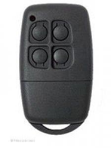 Handsender Seip 40 AM (B40A011004), 4 Tasten, 40 MHz AM, LED leuchtet rot, wurde ersetzt durch Handsender Seip MIDI-HS (BE40A015004), 4 Tasten, 40 MHz AM