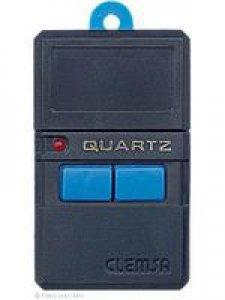 Handsender CLEMSA TX2, 2 Tasten, 40,685 MHz AM, wird ersetzt durch Handsender HR RQ2640F, lernfähig, 2 Tasten, 40 MHz AM