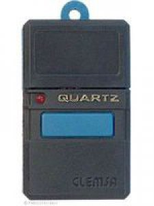 Handsender CLEMSA TX1, 1 Taste, 40,685 MHz AM, wird ersetzt durch Handsender HR RQ2640F, lernfähig, 2 Tasten, 40 MHz AM