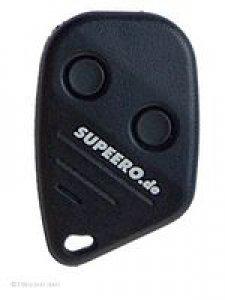 Handsender SUPEERO SKJ Mini, 2 Tasten, 434 MHz, selbstlernender Handsender