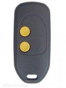 Handsender WELLER MT87A2, 2 Tasten, 868 MHz, wurde ersetzt durch Handsender WELLER MT87A3-4, 4 Tasten, 868 MHz