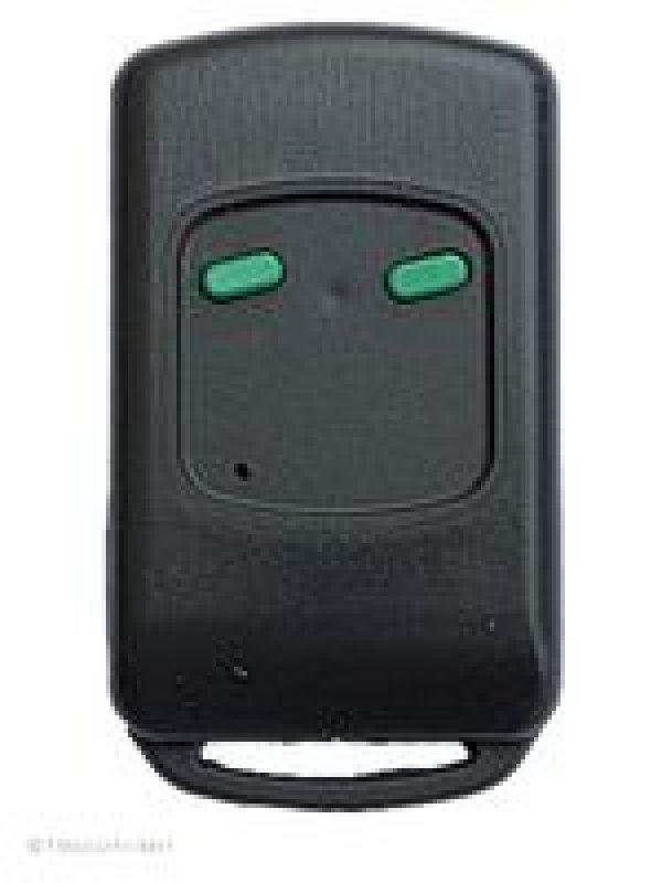 Handsender WELLER MT40A2-2, 2 Tasten, 40 MHz AM, wird ersetzt durch Handsender Dickert MAHS40-04, 4 Tasten, 40 MHz AM