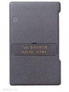 Handsender Alltronik S 4051 B (Art.Nr. 2791), 1 Taste, 27 MHz AM, Alternativangebot Handsender Dickert MAHS27-01, 1 Taste, 27 MHz AM