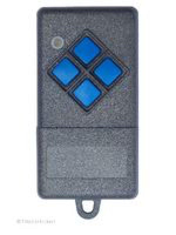 Handsender Nice / Dickert GTA-SK4-433, S10-433A4K01, S10-433A4K03, S10-433A4K-52, 4 Tasten, 433 MHz AM