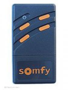 Handsender Somfy 26,995 MHz, Bosch Ersatzhandsender, 4 Tasten, LED leuchtet gelb
