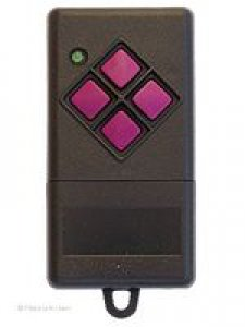 Handsender Novotron 404, 4 Tasten, Alternativangebot Dickert MAHS433-04, 4 Tasten, 433 MHz AM