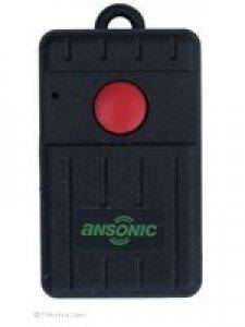 Handsender Ansonic SF 433-1-Mini, 1 Taste, 433,920 MHz FM