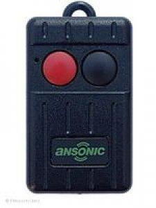 Handsender Ansonic SF 433-2-Mini, 2 Tasten, 433,920 MHz FM