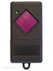 Handsender Becker Mini, 1 Taste, 40 MHz FM, Alternativangebot Dickert FHS10-01, 1 Taste, 40 MHz FM