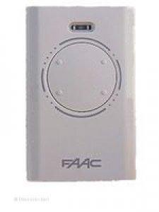 Handsender FAAC XT4 433 SLH (Modell 787004), 4 Tasten, 433 MHz